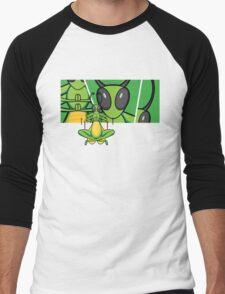 Patient Grasshopper 2 Men's Baseball ¾ T-Shirt