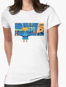 Mooshu 2 Womens Fitted T-Shirt