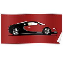 2007 Bugatti Veyron 16.4 Project Kahn Poster