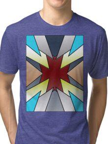 Abstract Shirt Tri-blend T-Shirt