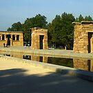 Temple of Debod by Tom Gomez