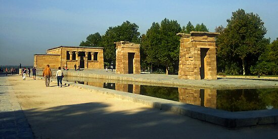 Temple of Debod by Tom Gomez