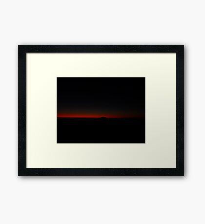 Ayres Ember Framed Print