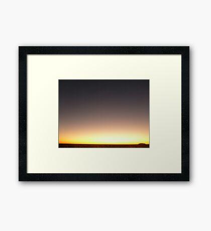 Spiritural Aura Framed Print