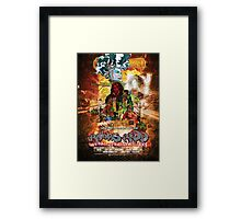 Ravenous Redd Production Poster Framed Print