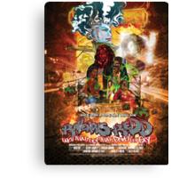 Ravenous Redd Production Poster Canvas Print