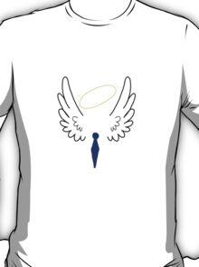 Wings, ties, and halos T-Shirt