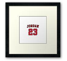 Jordan #23 Framed Print