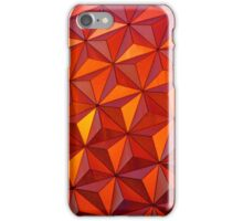 Geometric Epcot iPhone Case/Skin