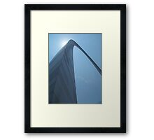The Arch- St Louis Framed Print