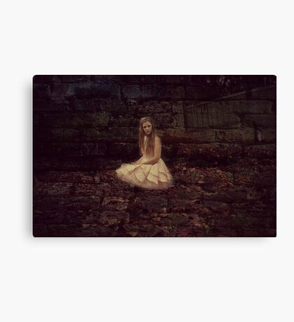 Princess Lonely Canvas Print