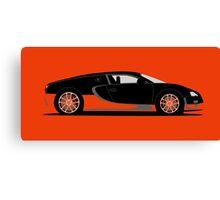 2010 Bugatti Veyron 16.4 Super Sport World Record Edition Canvas Print