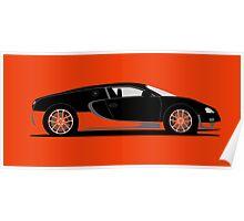 2010 Bugatti Veyron 16.4 Super Sport World Record Edition Poster