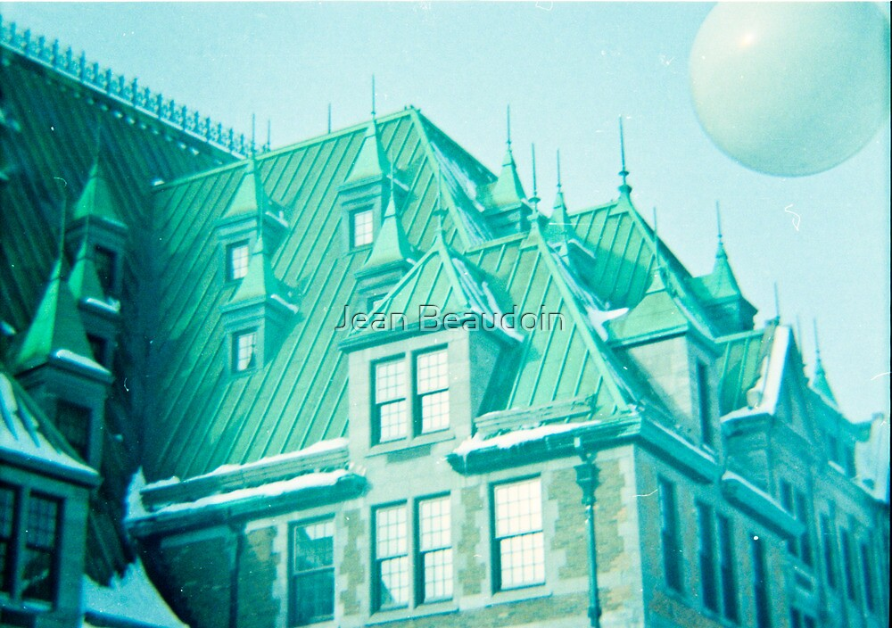 Chateau Frontenac by Jean Beaudoin