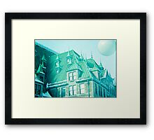 Chateau Frontenac Framed Print