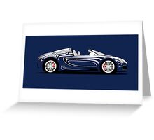 2011 Bugatti Veyron 16.4 Grand Sport L'or Blanc Greeting Card