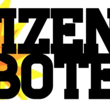 Citizen Saboteur  Sticker