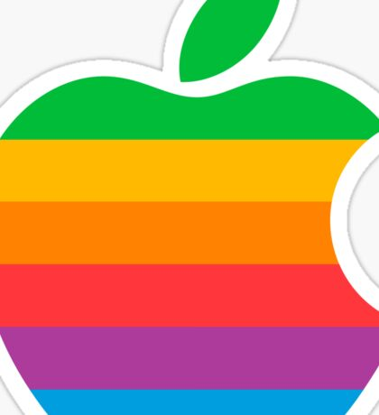 Retro Apple  Sticker