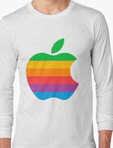 Retro Apple  Long Sleeve T-Shirt
