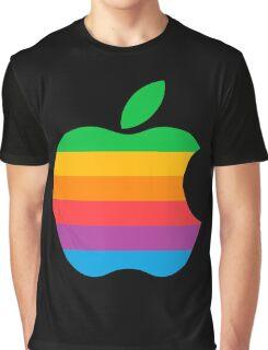 Retro Apple  Graphic T-Shirt