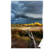 An Approaching Storm (Orton Effect) Poster