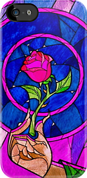 Beauty and the Beast [iPhone cover] by FameMonster