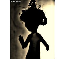 Zombie Doll in Tux Photographic Print