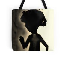 Zombie Doll in Tux Tote Bag