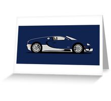 2011 Bugatti Veyron 16.4 Super Sport Alkon Greeting Card