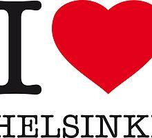 I ♥ HELSINKI by eyesblau