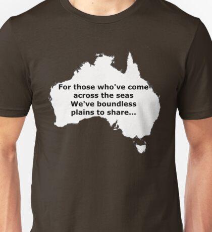 Boundless plains to share! Unisex T-Shirt