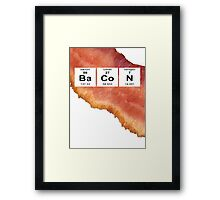 Mmm bacon Framed Print
