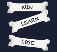 Win or Learn One Piece - Short Sleeve
