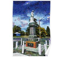 Braidwood  War Memorial Poster