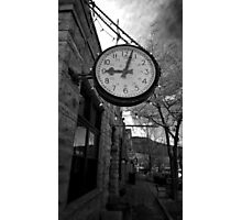 A Stopped Clock Photographic Print