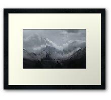 Fraction 00 Framed Print