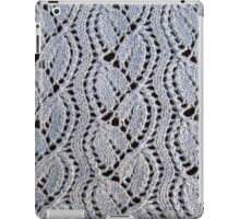 Dayflower knitted lace iPad Case/Skin