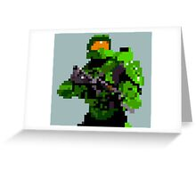 16-bit Spartan Greeting Card
