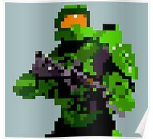 16-bit Spartan Poster