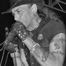Stephen Pearcy from RATT B&W by ©Dawne M. Dunton