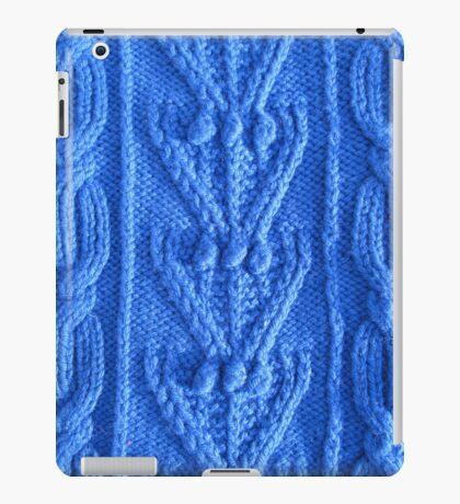 Aran knit iPad Case/Skin