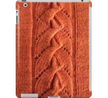 Alata knitted lace cable iPad Case/Skin