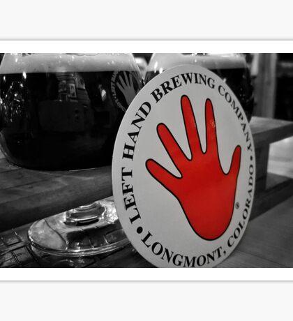Left Hand Brewing Sticker