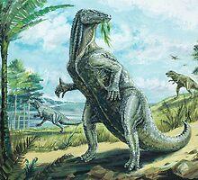 Iguanodon by David Roland