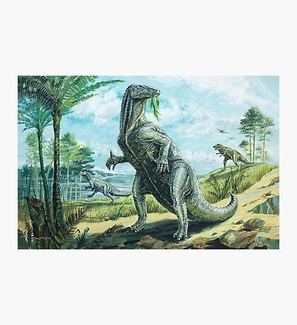 Iguanodon Photographic Print