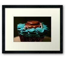 The Cake Decorators Framed Print