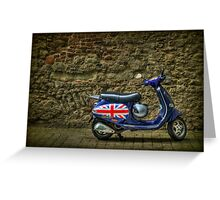 British At Heart Greeting Card