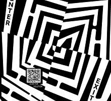 Broken Maze by Yanito  Freminoshi