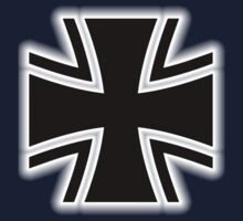 Germany, German, Iron Cross, Federal Defence, Bundeswehr Kreuz, Black by TOM HILL - Designer