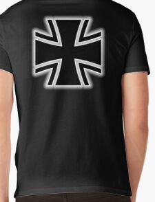 Germany, German, Iron Cross, Federal Defence, Bundeswehr Kreuz, Black Mens V-Neck T-Shirt